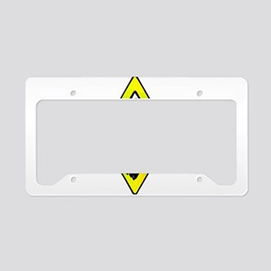 Judah Lion - Reggae Rasta! License Plate Holder