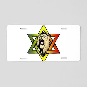 Judah Lion - Reggae Rasta! Aluminum License Plate