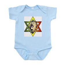 Judah Lion - Reggae Rasta! Infant Bodysuit