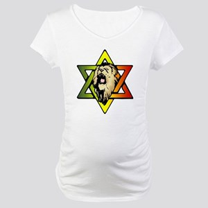 Judah Lion - Reggae Rasta! Maternity T-Shirt