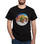 XMusic2 - Brussels (blk) Dark T-Shirt