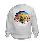 XMusic2 - Brussels (blk) Kids Sweatshirt