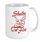 Shelby On Fire Large Mug