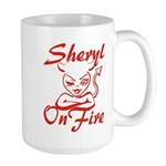 Sheryl On Fire Large Mug