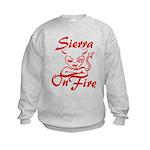 Sierra On Fire Kids Sweatshirt