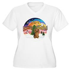 XM2-Dachshund (LH-Sbl) T-Shirt
