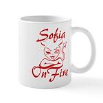 Sofia On Fire Mug
