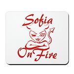 Sofia On Fire Mousepad