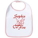Sophia On Fire Bib
