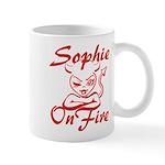Sophie On Fire Mug