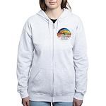 XM2-Two Coton de Tulear Women's Zip Hoodie
