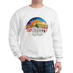 XM2-Two Coton de Tulear Sweatshirt