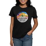 XM2-Two Coton de Tulear Women's Dark T-Shirt