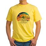 XM2-Two Coton de Tulear Yellow T-Shirt