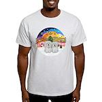XM2-Two Coton de Tulear Light T-Shirt
