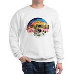 XM2-Two Bull Mastiffs Sweatshirt