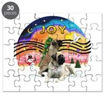 XM2-Two Bull Mastiffs Puzzle