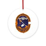 USS GEORGE WASHINGTON CARVER Ornament (Round)