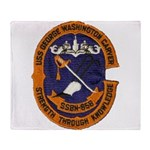 USS GEORGE WASHINGTON CARVER Throw Blanket