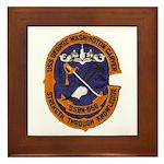USS GEORGE WASHINGTON CARVER Framed Tile