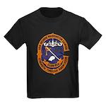 USS GEORGE WASHINGTON CARVER Kids Dark T-Shirt