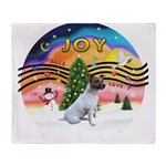 XMusic2-JackRussell6 Throw Blanket