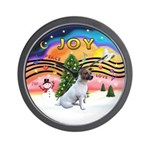 XMusic2-JackRussell6 Wall Clock