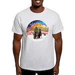 XMusic2-Two Dobermans Light T-Shirt