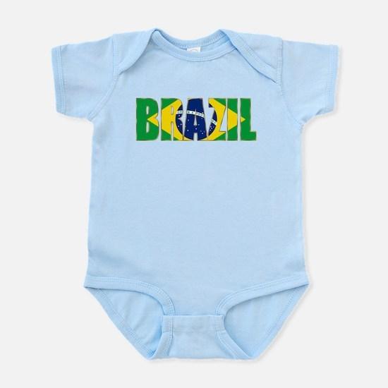 Brazil Logo Infant Bodysuit