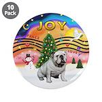 "XMusic-English Bulldog (W1) 3.5"" Button (10 p"