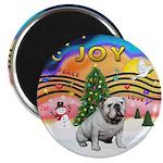 XMusic-English Bulldog (W1) Magnet
