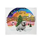 XMusic-English Bulldog (W1) Throw Blanket