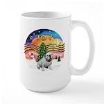 XMusic-English Bulldog (W1) Large Mug
