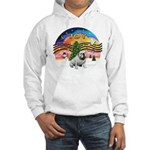 XMusic-English Bulldog (W1) Hooded Sweatshirt