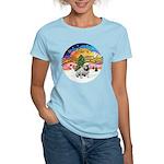 XMusic-English Bulldog (W1) Women's Light T-Shirt