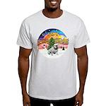 XMusic-English Bulldog (W1) Light T-Shirt