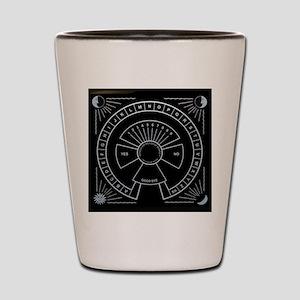 Vintage Ouija Pendulum Board Shot Glass