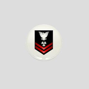 Navy PO2 Machinist's Mate Mini Button