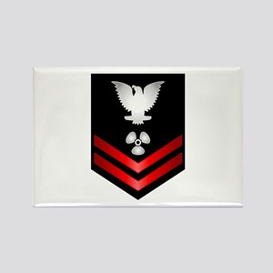 Navy PO2 Machinist's Mate Rectangle Magnet