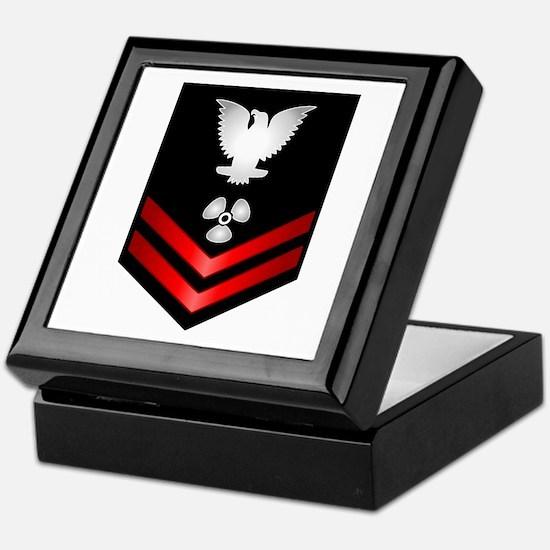 Navy PO2 Machinist's Mate Keepsake Box