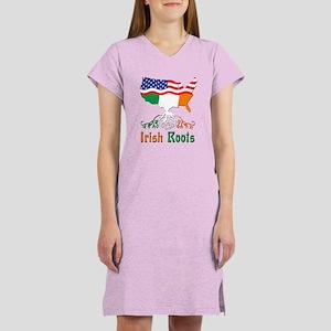 American Irish Roots Women's Nightshirt