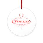 Torco pinstripe Ornament (Round)