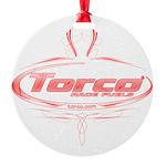 Torco pinstripe Round Ornament