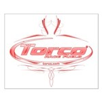 Torco pinstripe Small Poster