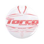 "Torco pinstripe 3.5"" Button"