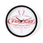 Torco pinstripe Wall Clock