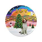 "XMusic2 - Brittany Spaniel 3.5"" Button (100 p"
