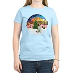XMusic2 - Brittany Spaniel Women's Light T-Shirt