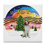 XMusic2 - Brittany Spaniel Tile Coaster