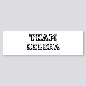 Team Helena Bumper Sticker